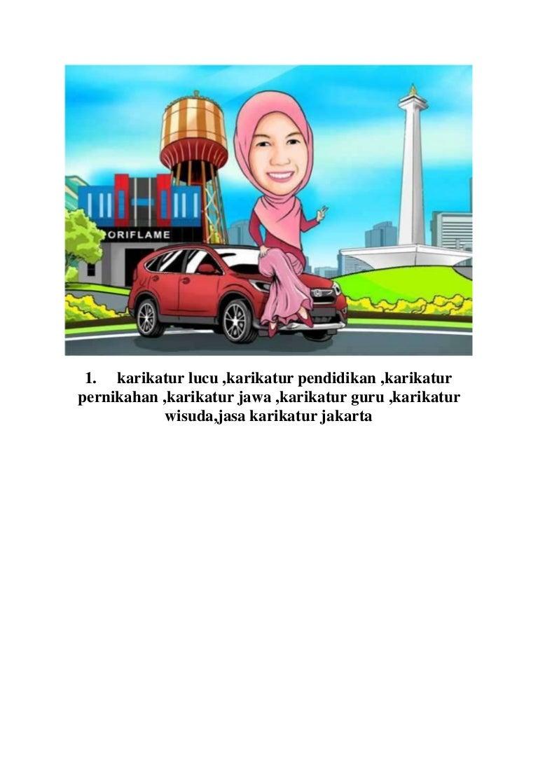 Wa 0896 8636 3519 Jasa Karikatur Jakarta