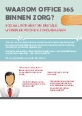Waarom office 365 in zorg   sociaal intranet en digital mobile workplace health care - rapid circle - microsoft v2 - printbaar