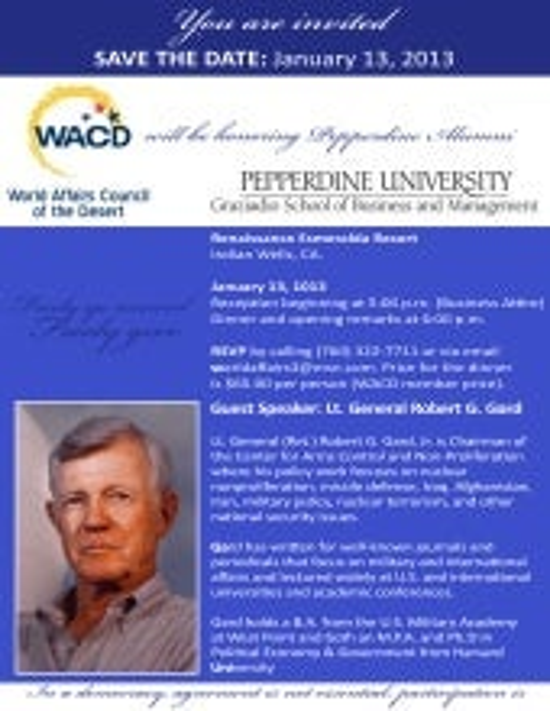 WACD hosts Pepperdine GSBM