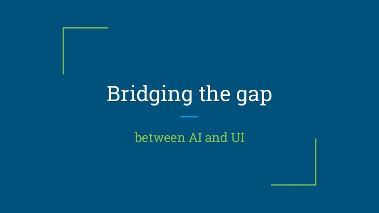 Bridging the gap between AI and UI - WeAreDevelopers AI