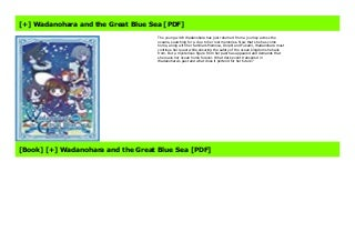 FREE DOWNLOAD Wadanohara and the Great Blue Sea Audiobook Streaming- Wadanohara and the Great Blue Sea