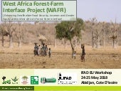 West Africa Forest-Farm Interface Project (WAFFI): Enhancing smallholder food security, incomes and gender equity within West Africa's forest-farm interface