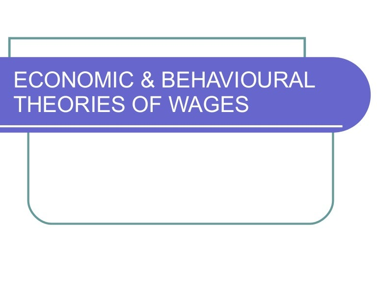 iron law of wages explained