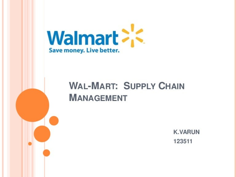 wal mart inventory management