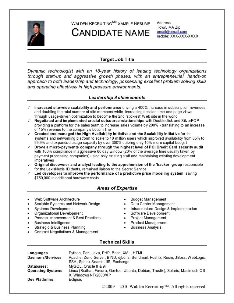walden recruiting sample resume makeover cc license no derivs - Weblogic Administration Sample Resume