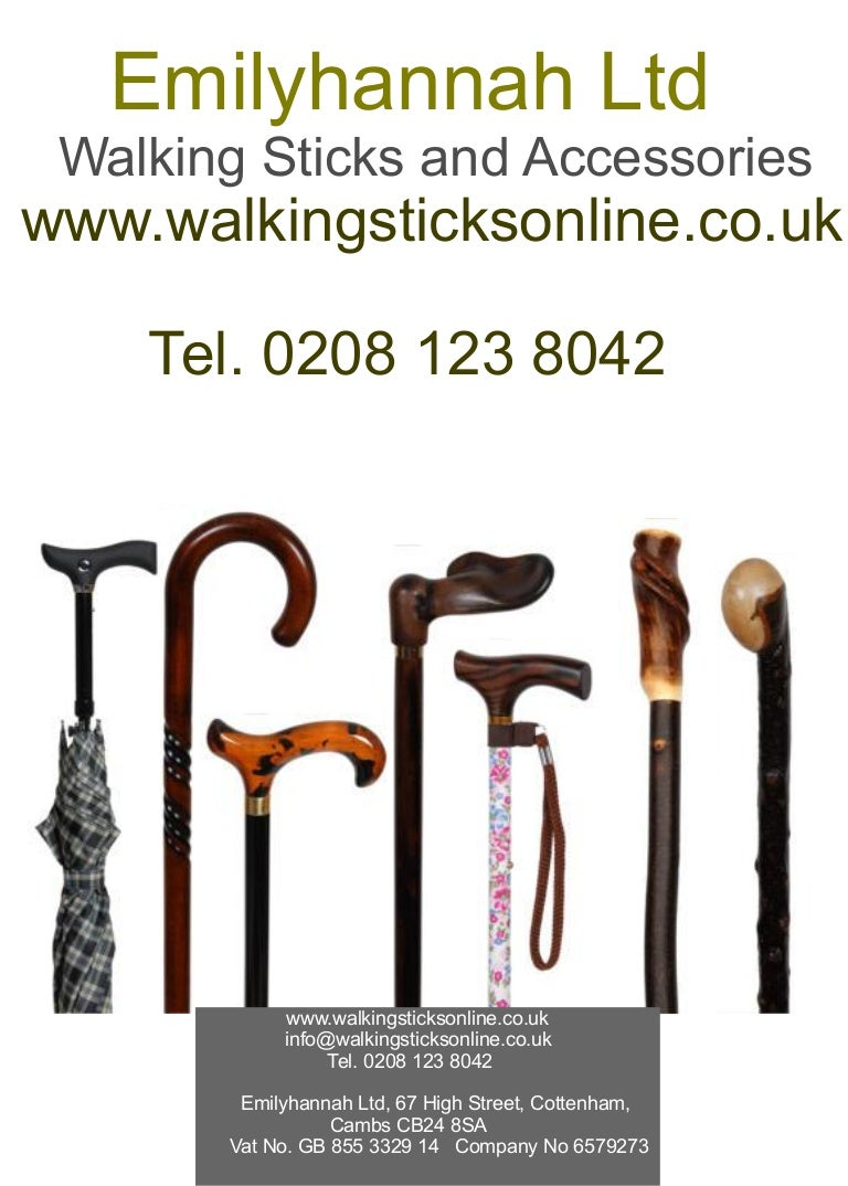 Walking stick soft touch handle wooden scorched shaft with rubber ferrule