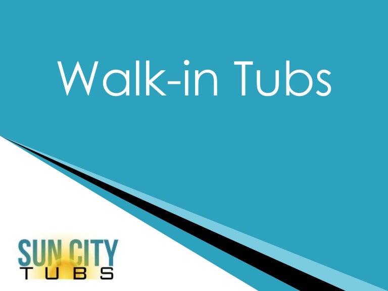 Walk in tub section mark