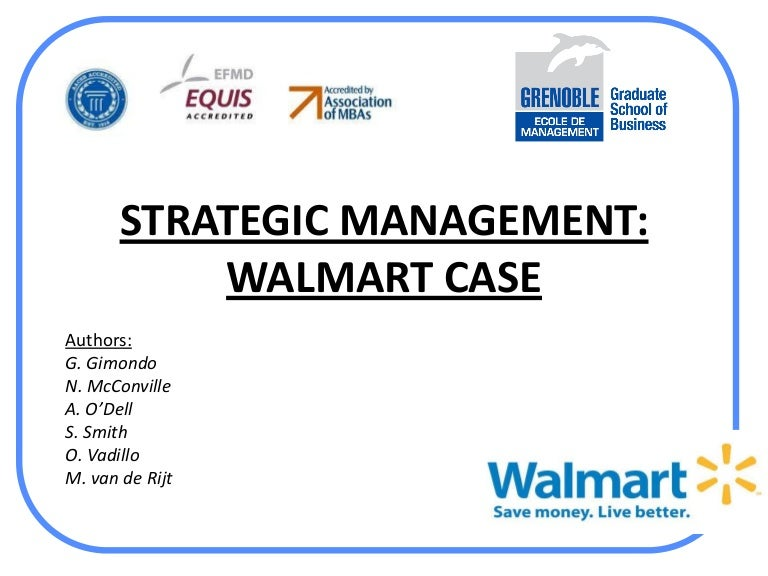 Wal-Mart Store Strategic Audit Year 2005