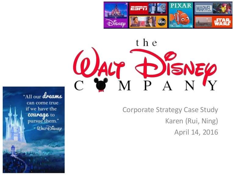 the walt disney company strategic recommendations Walt disney company essay 4270 words   18 pages strategic management at the walt disney company.
