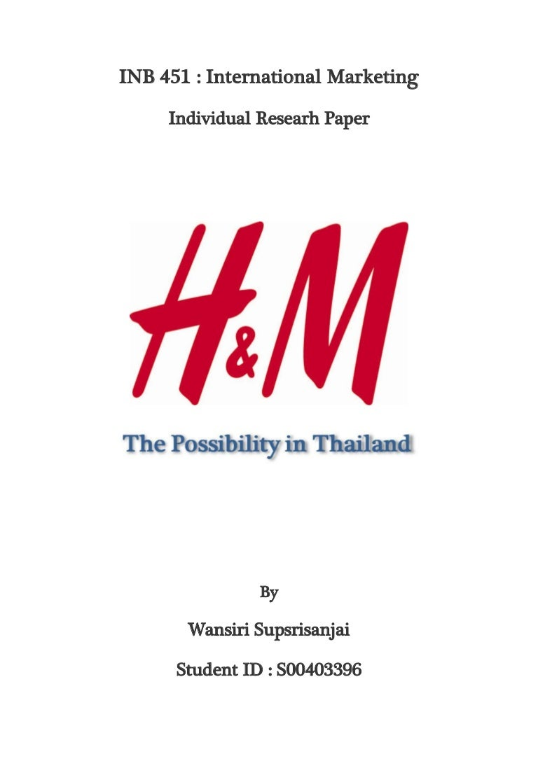 h m the possibility in thailand