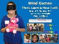 Mind Games: Think, Learn & Have Fun!!!  Wanskuck Library, Providence RI.  May 9, 2016. Photo Album.
