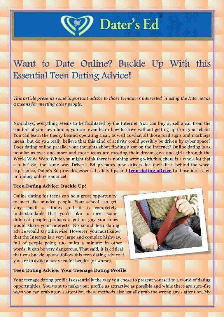 teen dating online