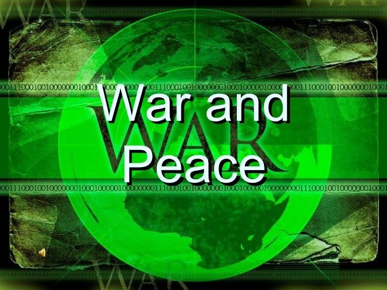Whizz through powerpoint: just war.