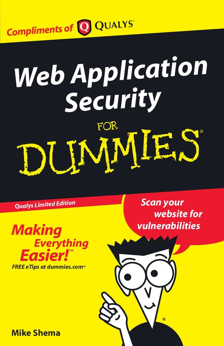 Web application security for dummies gamestrikefo Images