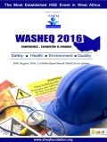 LATEST WASHEQ 2016 BROCHURE