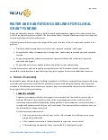 Safe Water, A Basic Human Right Handout 3