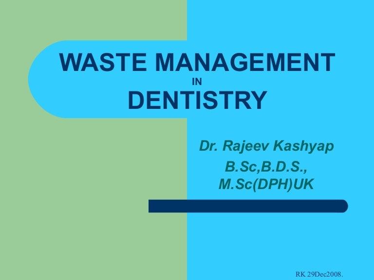 Waste Management – Waste Management Ppt