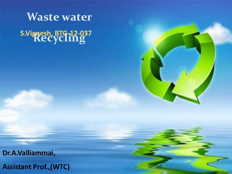 Wastewater reuse: international regulations and trends ppt video.