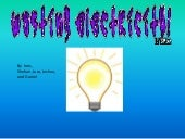 Wasting electricity powerpoint