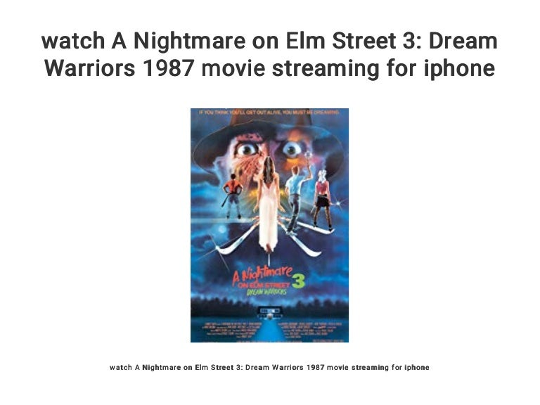 Nightmare On Elm Street 3 Stream