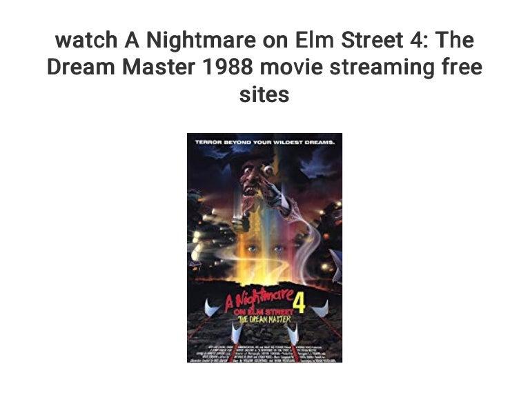 A Nightmare On Elm Street Stream