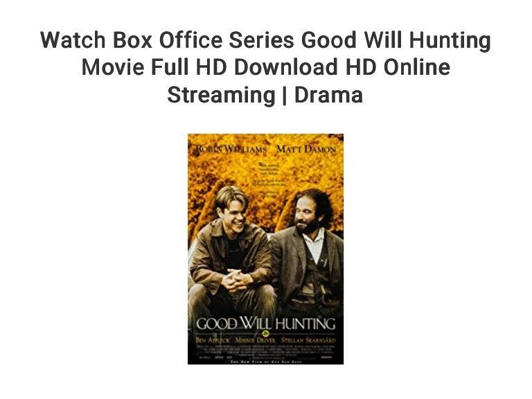 Good Will Hunting Online Stream