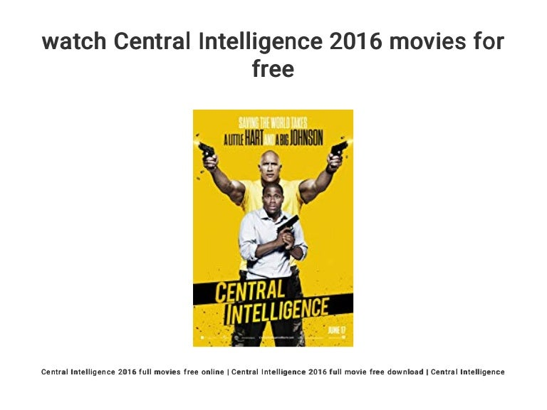 Watch Central Intelligence Online Free
