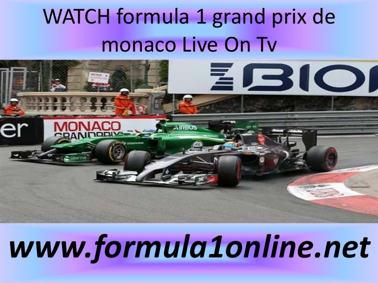 Watch f1 monaco racing