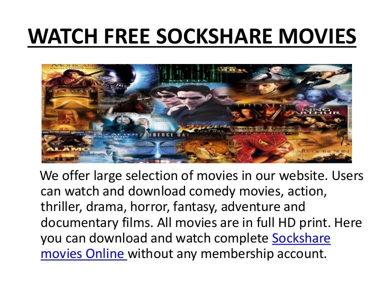 Share movies for free