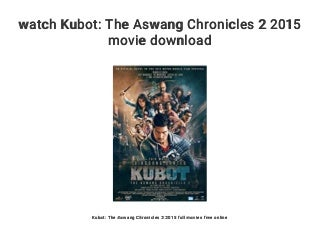 watch Kubot: The Aswang Chronicles 2 2015 movie download