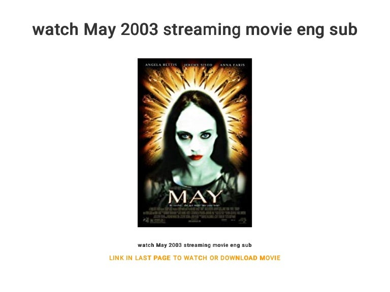 watch May 2003 streaming movie eng sub