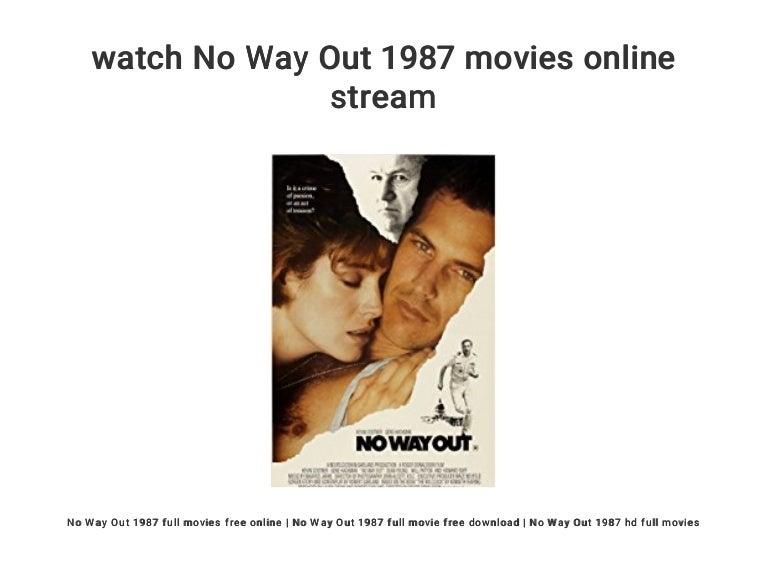 No Way Out Stream