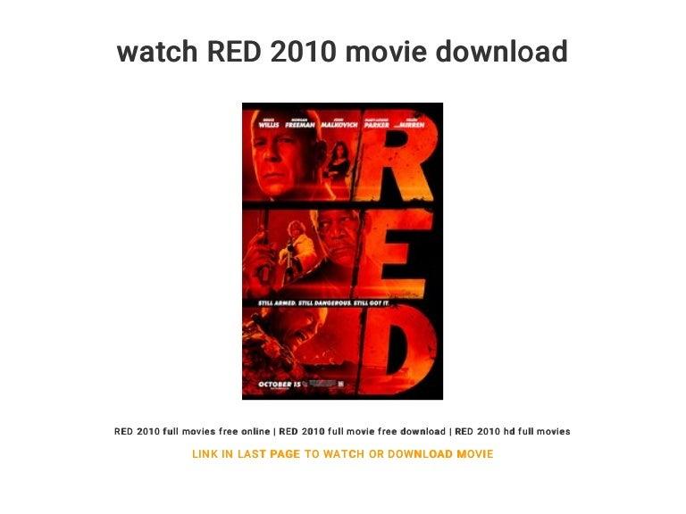 watch red 2010 full movie online free