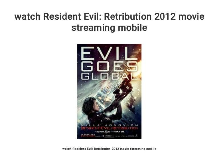 Watch Resident Evil Retribution 2012 Movie Streaming Mobile