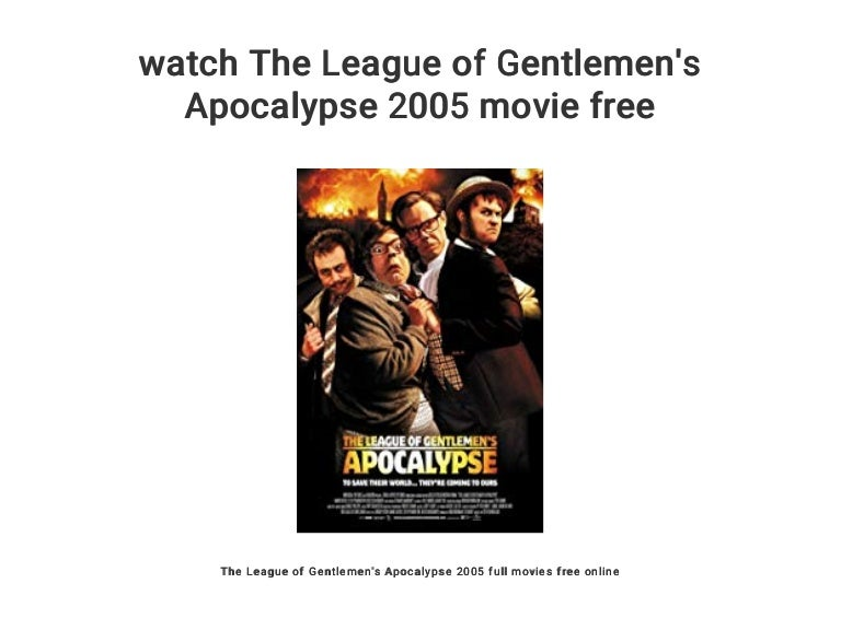 the league of gentlemen free online