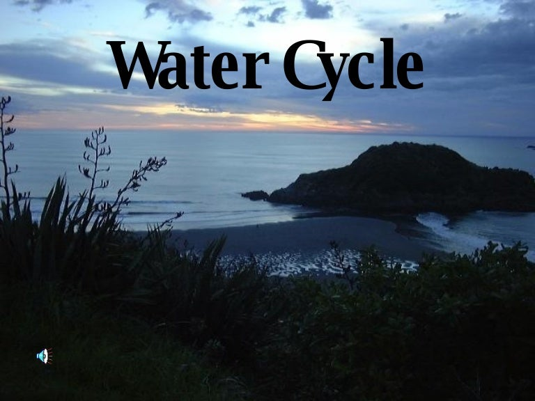 Water cycle (powerpoint) youtube.