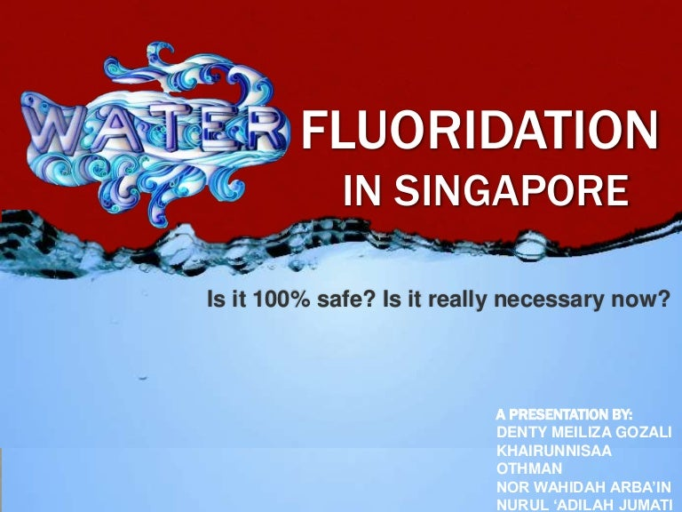 Pros and cons of fluoridating the water supply