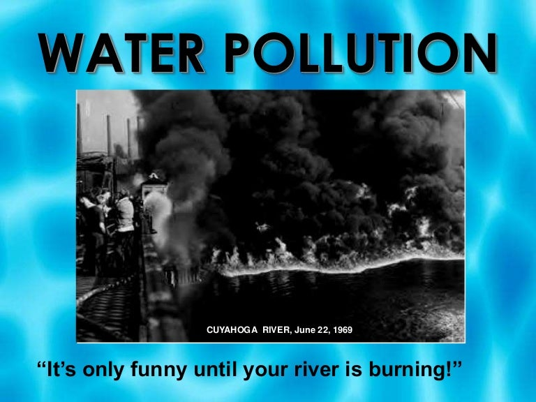 Water pollution power point