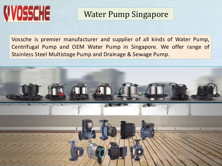 Water pump singapore