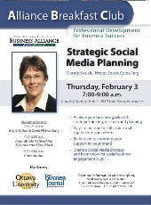 Strategic Social Media Planning - Waukesha County Business Alliance