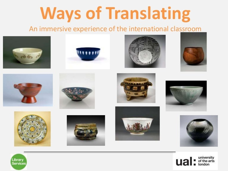Thumbnail for Ways of translating: an immersive experience of the international cla…