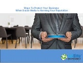 Ways to Protect your Business Reputation