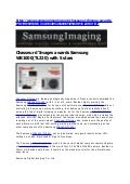 Wb1000 Samsungimaging Chasseur