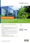 BSI Carbon Neutrality & PAS 2060 Conference & Workshop