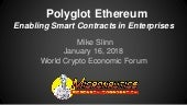 Polyglot Ethereum - Smart Contracts for the Enterprise