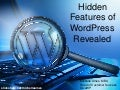 Hidden Features of WordPress