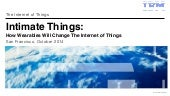 Intimate Things: How Wearables Are Changing The Internet of Things