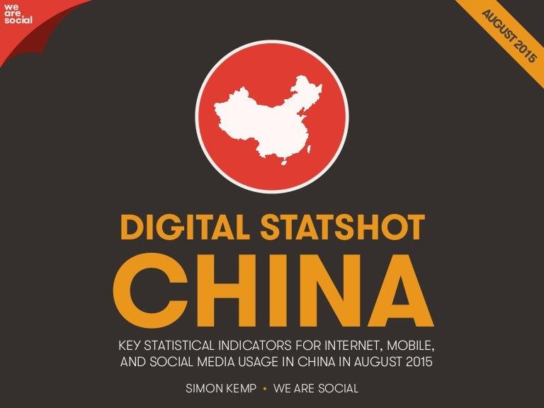 Digital Social Mobile In China In 2015