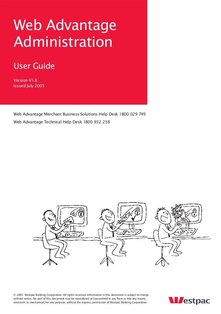 Web Adv Administration User Guide V1