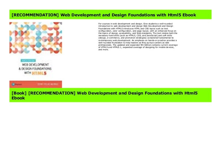 News Web Development And Design Foundations With Html5 Pdf Books